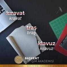kravat, tıraş, kılavuz. (Kaynak: Instagram - Başkent İletişim Akademisi) #türkçe #türkçedili #bilgi #kelime #kelimeler #anlam #özet #kökeni #güzel #güzelkelimeler #bazıkelimelerçokgüzel #lügat #doğrutürkçe