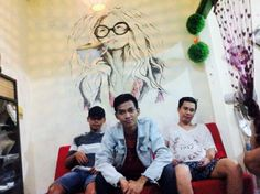 the lounge #mural #steffart