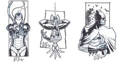 PRCC sketches by dio-03.deviantart.com on @deviantART