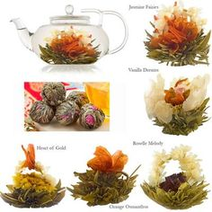 Flowering Tea Favour - Mixed Blooms