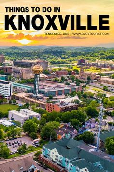 Wondering what to do in Knoxville, TN? This travel guide will show you the top attractions, best activities, places to visit & fun things to do in Knoxville, TN. Start planning your itinerary & bucket list now! #Knoxville #KnoxvilleTennessee #KnoxvilleTN #tennessee #tennesseevacation #usatravel #usatrip #usaroadtrip #travelusa #ustravel #ustraveldestinations #americatravel #travelamerica #vacationusa