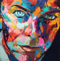 David Bowie, 2016 by Françoise Nielly