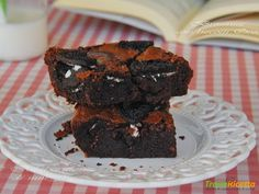 BROWNIES CON BISCOTTI OREO  #ricette #food #recipes