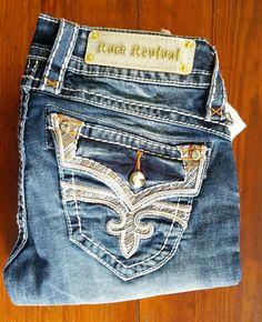 e8fe27c0d94b3 Rock Revival Stephanie B35 size 25. Rock Revival Jeans Haul March/April  2015.