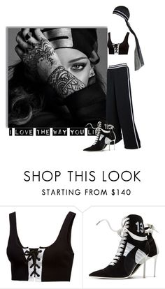 """Fenty. Rihanna is inspiring me."" by imurzilkina ❤ liked on Polyvore featuring Puma"