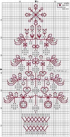 blackwork - Page 2 Motifs Blackwork, Blackwork Cross Stitch, Xmas Cross Stitch, Blackwork Embroidery, Cross Stitch Charts, Cross Stitch Designs, Cross Stitching, Cross Stitch Embroidery, Embroidery Patterns