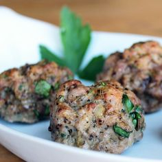 Paleo Perfect: Baked Meatballs