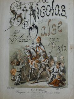 Bladmuziek uit 1900.