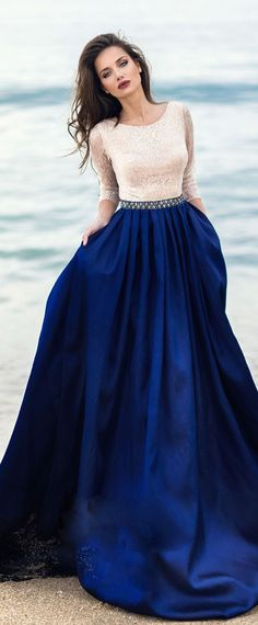 Sapphire Gown