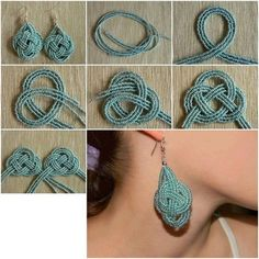 I'm bad at making jewelry, someone make this for me please? :) 15 DIY Easy-To-Make Jewelry Crafts