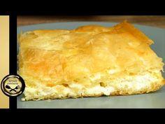 Εύκολη Τυροπιτα με Γιαούρτι και Φέτα (έτοιμη σε λίγα λεπτά) - ΧΡΥΣΕΣ ΣΥΝΤΑΓΕΣ - YouTube Cheese Pies, Easy Cheese, Bread Cake, Queso Feta, Spanakopita, Yogurt, Afternoon Tea, Healthy Recipes, Healthy Meals