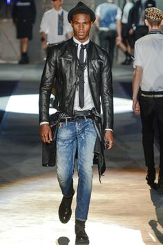 Dsquared² Spring 2013 Menswear Collection - Easy Rider