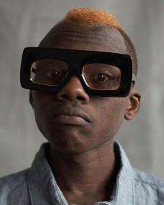 Photos by Karen Walker for the eyewear 'Visible' campaign www.karenwalker.com