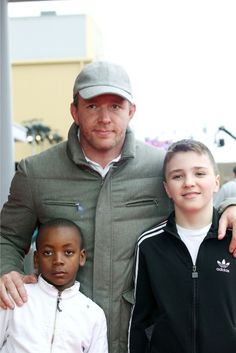 Guy Ritchie and his two little boys,  David & Rocco