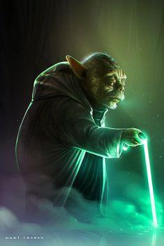 Old Yoda by Heri Irawan