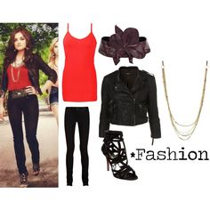 """""""PLL - Aria"""" by politepink on Polyvore"""
