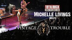 Michelle meets Vintage Trouble (TotalRock)