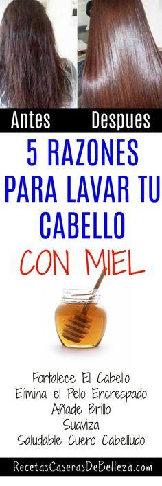 Lavar Tu Cabello Con Miel