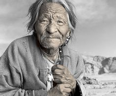 by Phil Borges, Tibet