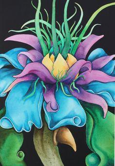 Fantasy flowers by BobCourtney