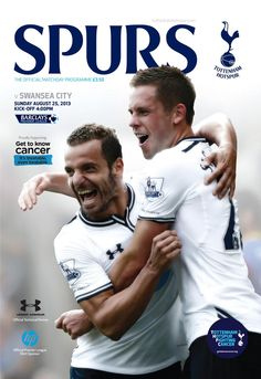 Official Tottenham Hotspur programme. Sport Media are publishing the club's official match day programme.