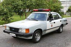 Opala - Sao Paulo Police car. Used in years 80.