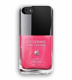 Pink Fracas Chanel apple Nail Poilsh iphone 5, iphone 4 4s, iPhone 3Gs, iPod Touch 4g case