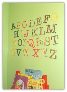 Crafty Kate: Nursery Alphabet