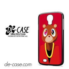 Kanye West Bear DEAL-6081 Samsung Phonecase Cover For Samsung Galaxy S4 / S4 Mini