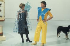 Blue Peter's Lesley Judd and John Noakes in sci-fi costumes. Blue Peter, Vintage Television, Kids Tv, Retro Futurism, Childhood Memories, Nostalgia, Tv Shows, Sci Fi, Science Fiction