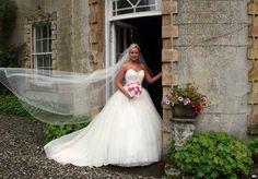 bride at the door