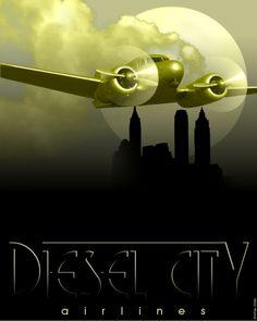 Dieselpunk poster