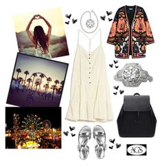 """Summer Concert"" by ac-silver ❤ liked on Polyvore"