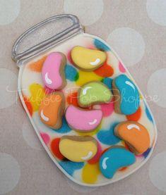 """Jellybean Jar ~ """"Bailie's Bunny Treats"""" ~ Truffle Pop Shoppe ~ Cookie Connection"""