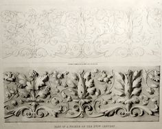 Plate 11: Part of a Frieze of The XVI Century