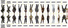 Aliens V Predator Character Sheet 012 Colonists
