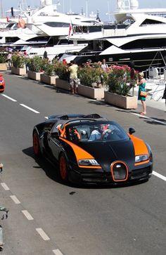 Bugatti Veyron Grand Sport Vitesse with Jeremy Clarkson