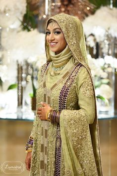 Afia Bhabi || Hijabi Bride || Indian Wedding mA