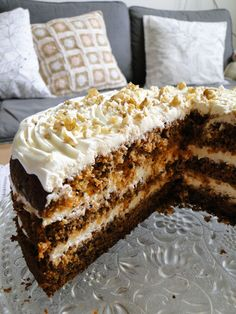 Carrot Cake, Cheesecake Recipes, Cheesecakes, Just Desserts, Tiramisu, Tea Time, Donuts, Carrots, Food And Drink