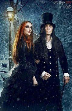 Victorian Gothic Couple