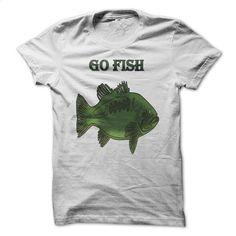 Go Fish Green Fish T-Shirt T Shirt, Hoodie, Sweatshirts - design your own shirt #fashion #style