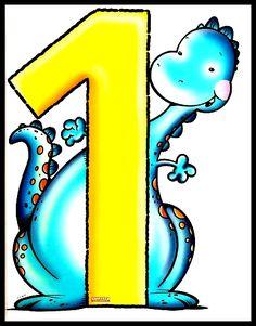Cartaz dos Números de 0 até 10 Para Sala de Aula