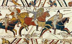 From the Bayeux Tapestry - Norman horses in war