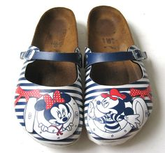 09e18ec4aa35 BIRKENSTOCK 39 OFFICIAL DISNEY MICKEY MOUSE MINNIE MOUSE SANDALS  LOVELY   SIZE 8