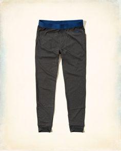 Contrast Sleep Pants