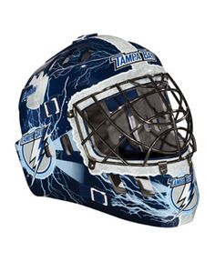 34.99$  Buy now - http://vibes.justgood.pw/vig/item.php?t=r471qe21389 - Franklin Tampa Bay Lightning NHL Team Mini Goalie Mask