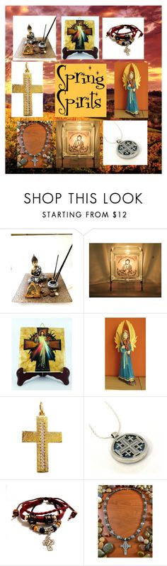 """Spring Spirits: Religious Gifts Collection"" by paulinemcewen ❤ liked on Polyvore"