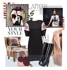 """""""October 5"""" by anny951 ❤ liked on Polyvore featuring Lattori, Arteriors, Pussycat, BLANCHA and Burberry"""