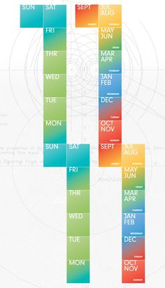 Creatively Curious: Design Time - RockPaperInk.com : How Von Glitschka visualizes time.