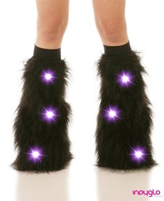 Indyglo Black LED Fluffies $42.99